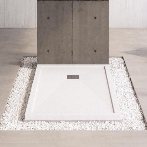 Platos de ducha de Mineral Composite